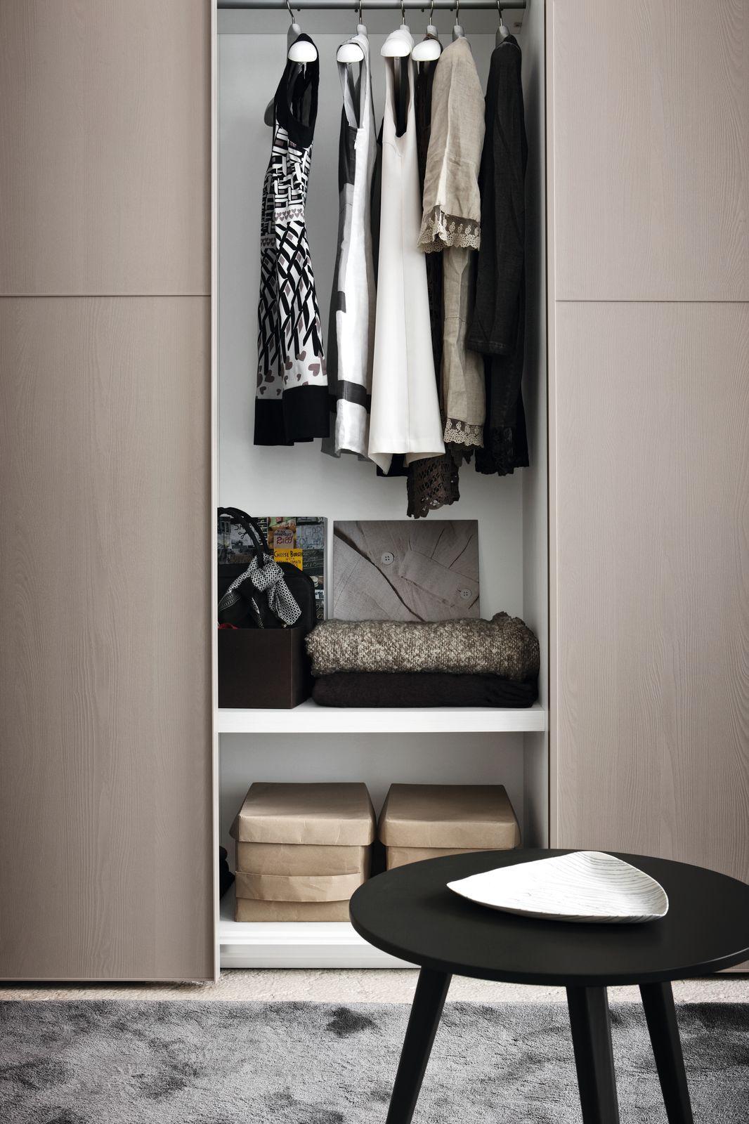 Italian made bedroom furniture by Novamobili, designed to