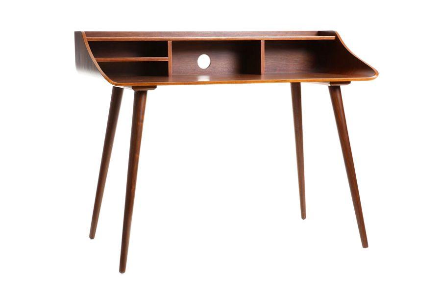 Bureau bois scandinave stunning console ou bureau en bois design