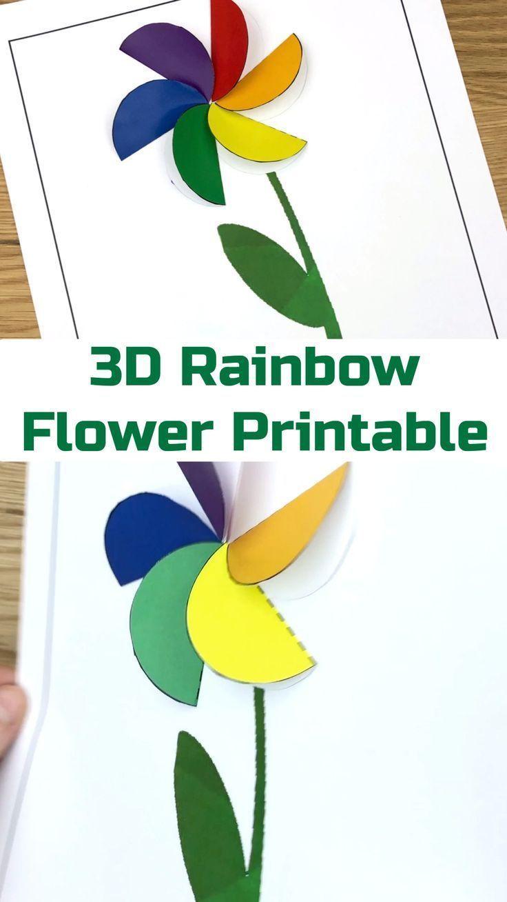 10 Fun Kids Rainbow Crafts - diy Thought