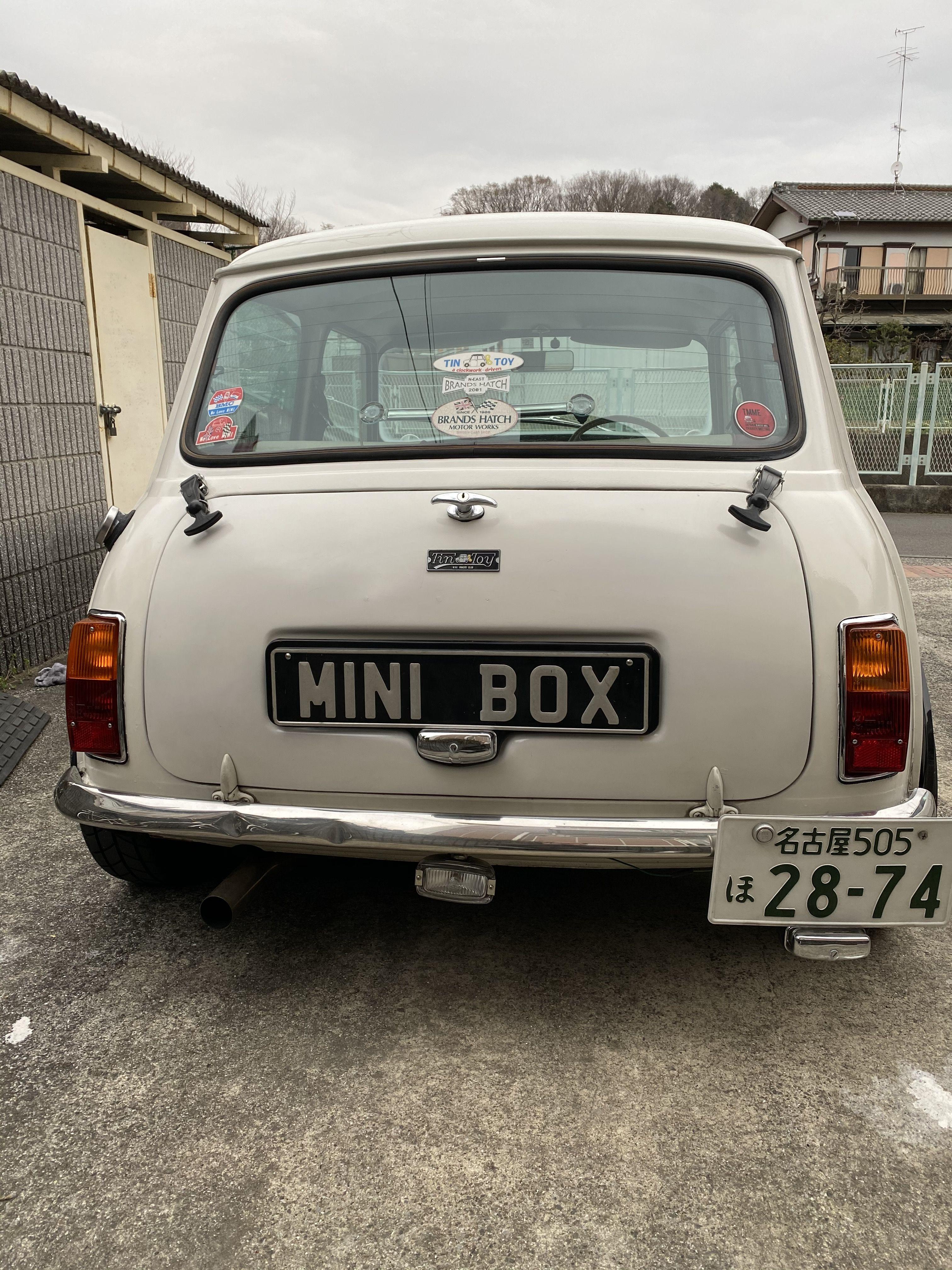 Pin By 堂 京極 On Mini ローバーミニ Mini Classic Vehicles