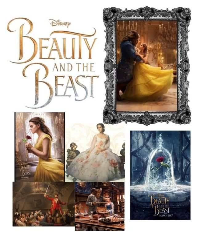 """""""Beauty and The Beast🥀"""" by bllnmnn ❤ liked on Polyvore featuring Disney, Lumière and Emma Watson"""