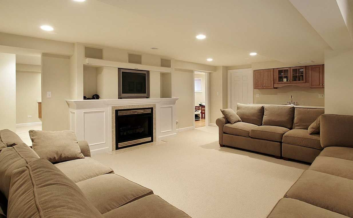 Paint Colors For Basement Family Room With Cream Wall Ideas Home