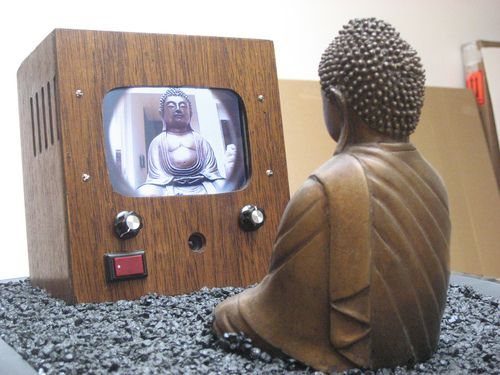 Nam June Paik...how much do you let media influence you?...think about it..