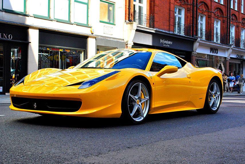 The 100 Hottest Cars of All Time | Ferrari, Ferrari 458 and Engine