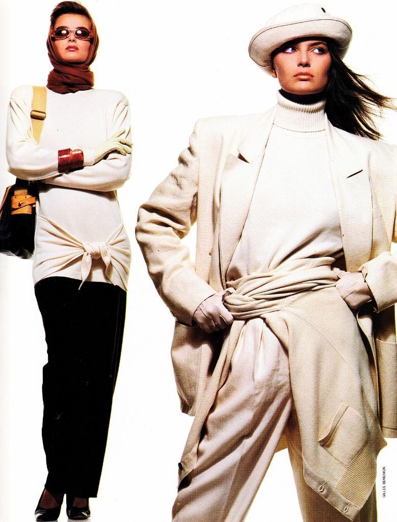 us elle jan 1986 (14) (With images) Fashion, Paulina