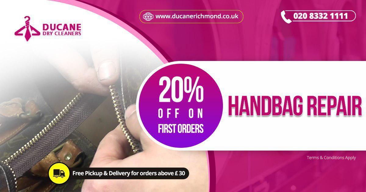 Handbag repair Services In Richmond London Handbag