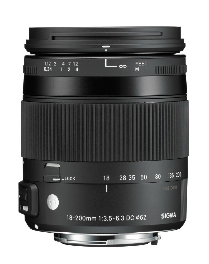 Sigma 18 200 Mm F3 5 6 3 Dc Macro Os Hsm C Objectif Pour Canon Eos Ef Category Sigma Sponsored Links