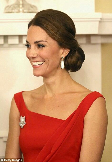 Catherine Duchess of Cambridge at a reception at Government House. Canada. September 26 2016