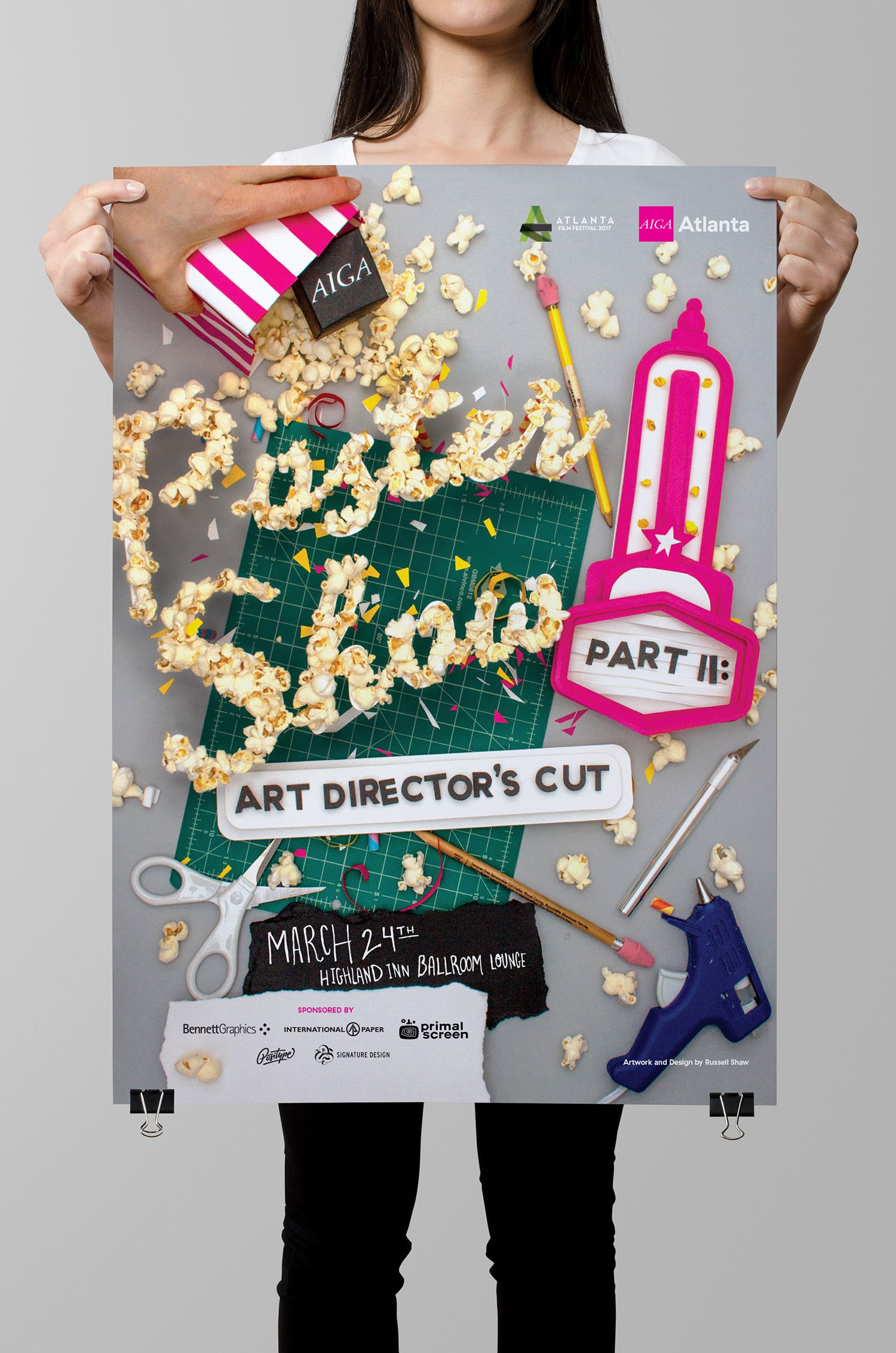 Showcase And Discover Creative Work On The World 39 S Leading Online Platform For Creative Industries Aiga Graphic Design Poster Design