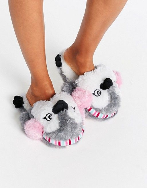 76d51160d354f8 New Look Ear Muff Penguin Slippers. Inexpensive and fun gift ideas for her