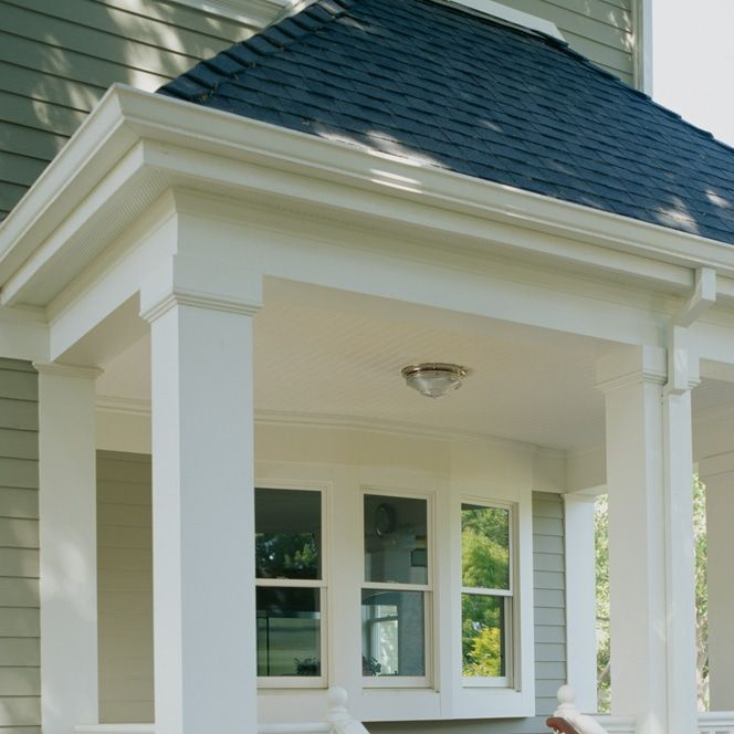 Trimmed Out Porch With Column Wraps Windsorone Porch Trim Porch Columns Porch Beams