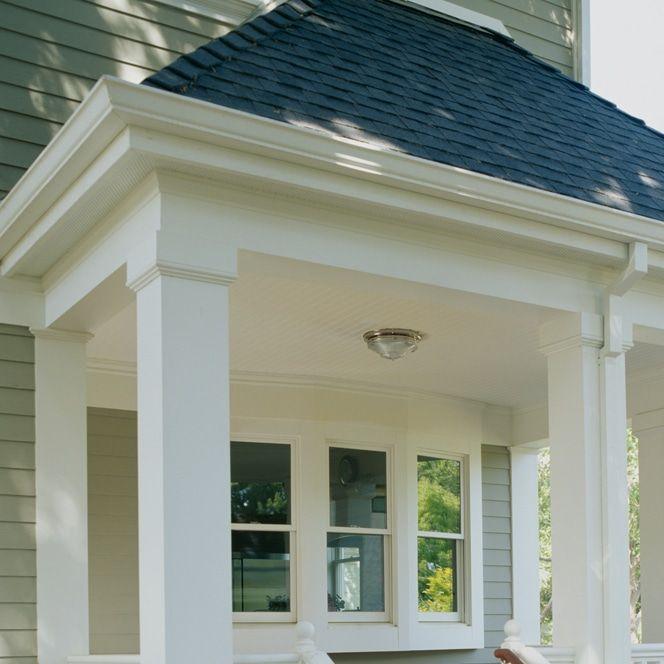Trimmed Out Porch With Column Wraps Porch Beams Porch Columns
