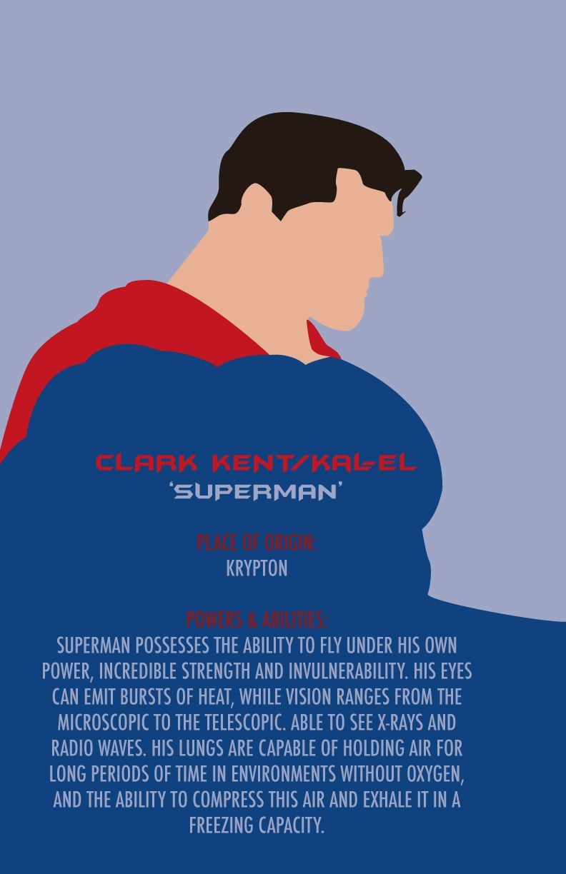 Superman vector made in Illustrator CS5 | Superhero Vector