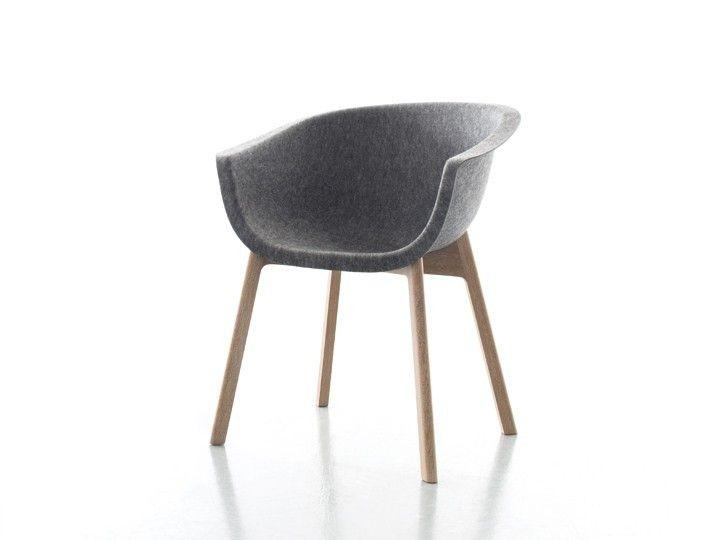 CHAIRMAN Stuhl Esszimmer Conmoto Grau \ Eiche Esszimmer - esszimmer modern beige