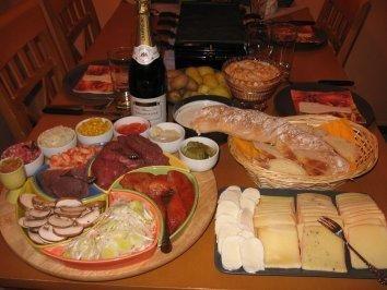 Raclette- Buffet - Rezept mit Bild