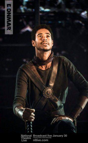 Titus Lartius (Alfred Enoch) Coriolanus - National Theatre Live
