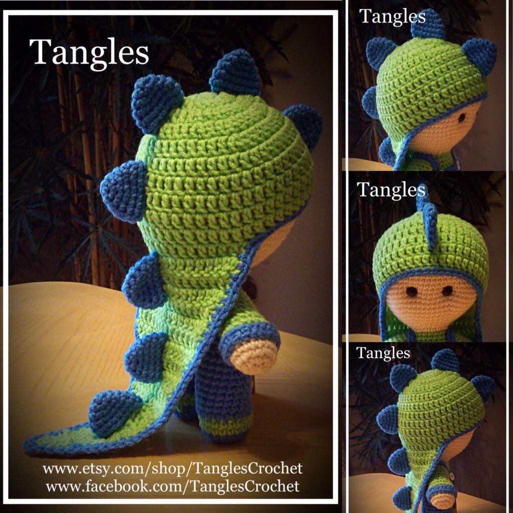 Dinosaur * Big Head Baby Doll | Crochet | Pinterest | Häkeln ...