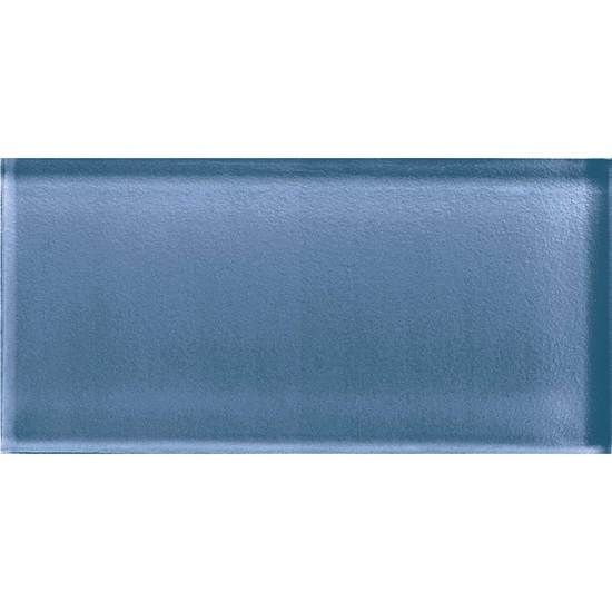 American Olean Color Appeal Glass - C110 Dusk - 3X6 Brick Subway Glass Tile - Glossy