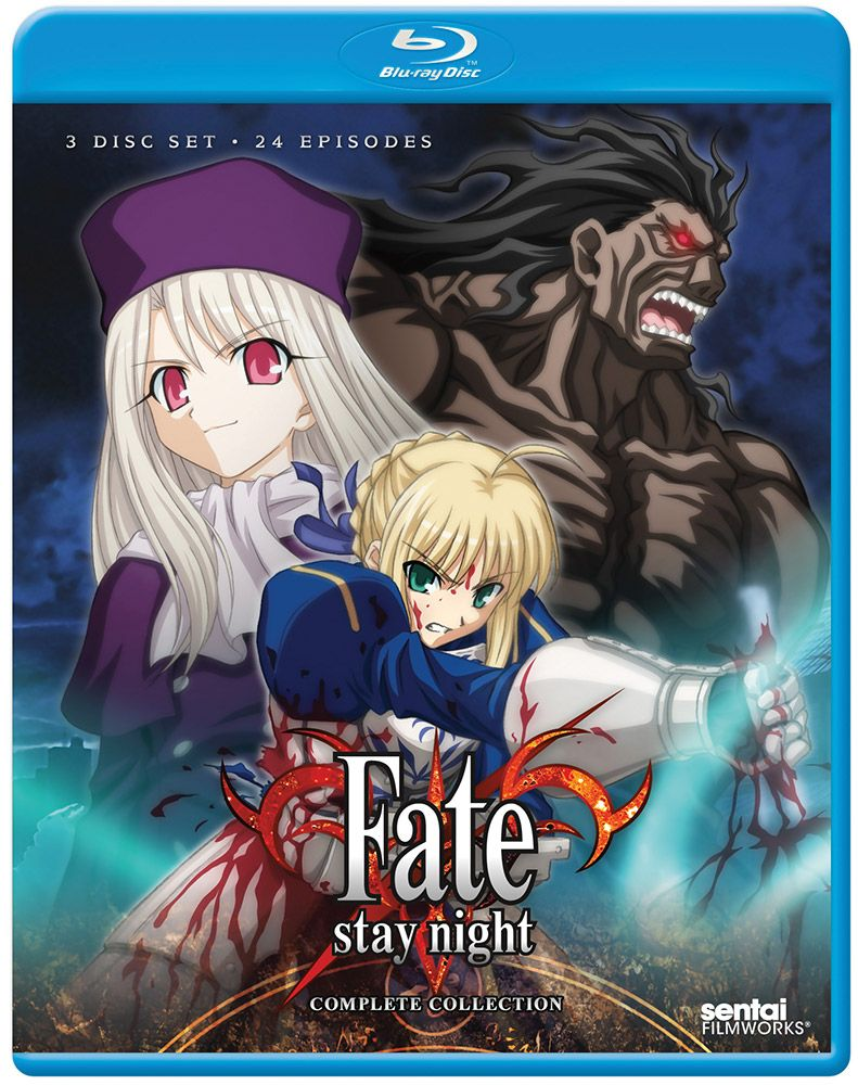 Fate/stay night Complete Collection Bluray Fate stay