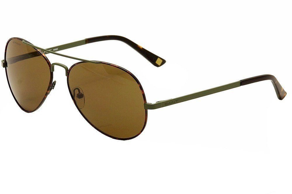 aa193dd34018d7 eBay  Sponsored Gant Rugger Men s Marty OLTO-1 Olive Tortoise Fashion  Aviator Sunglasses 59mm