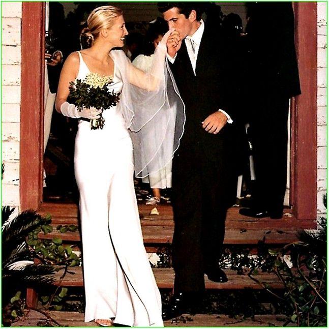 Carolyn Bessette Wedding Dress Simple Design 2 On Wedding Ceremony
