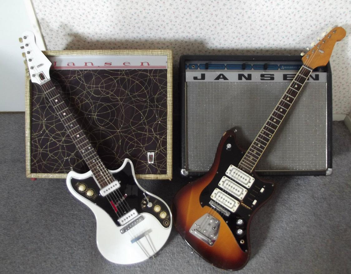 Jansen Guitars Made In Nz Cool Guitar Guitar Jansen