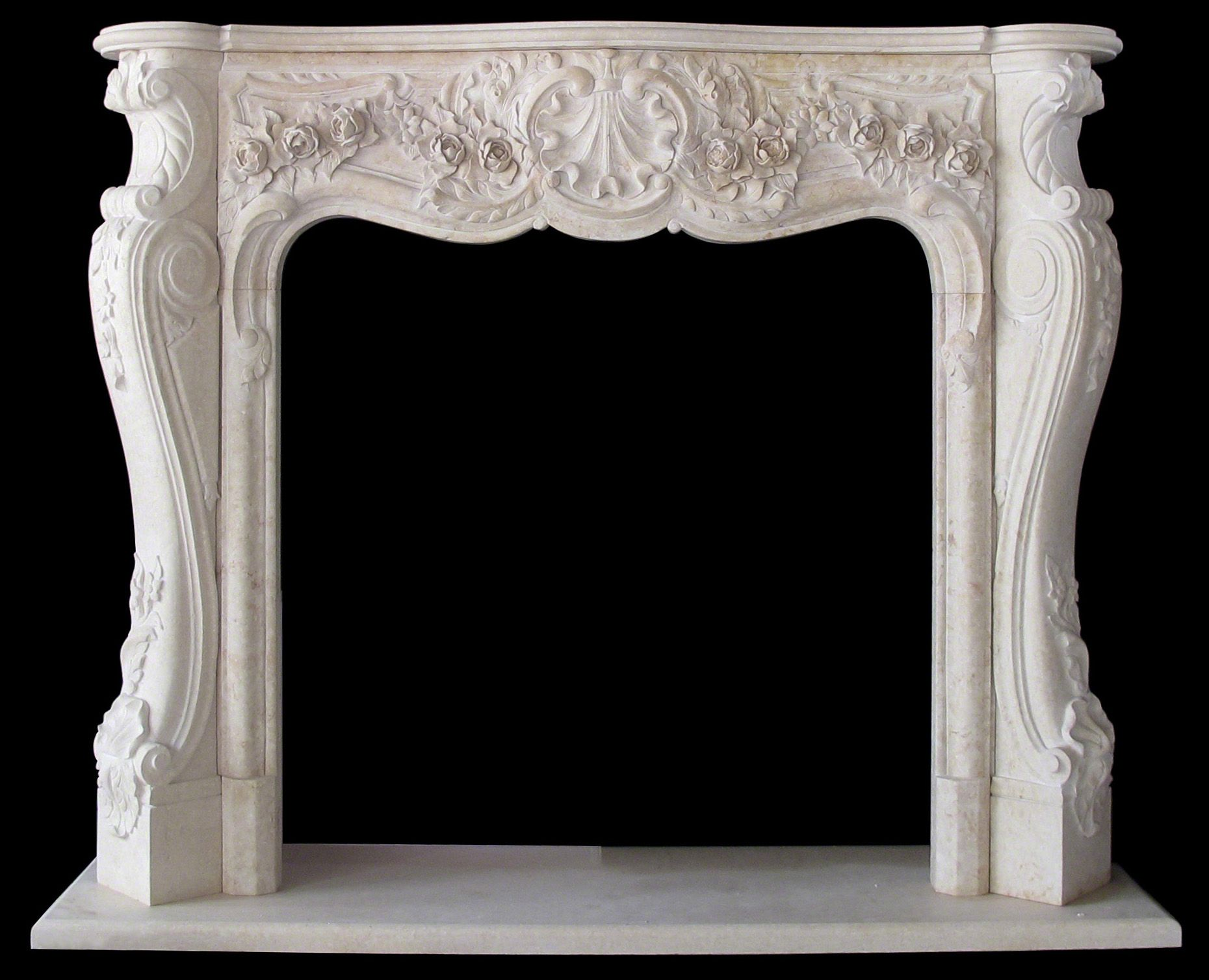 Marble fireplace surround sale travertine italian for Marble mantels for sale