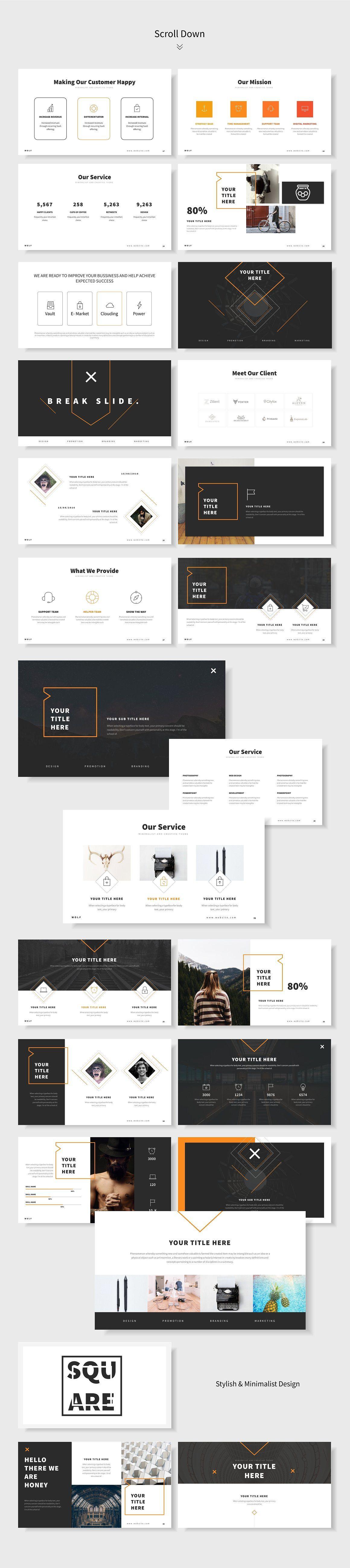 Honey Powerpoint Template Powerpoint Templates Business Powerpoint Templates Footer Design