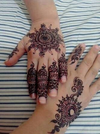 Pin By Haniya Malik On Beautiful Mehndi Design Pinterest