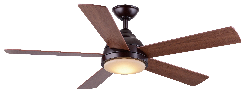 Wind River WR1475OB Neopolis 52in 5 Blade Ceiling Fan LED Light