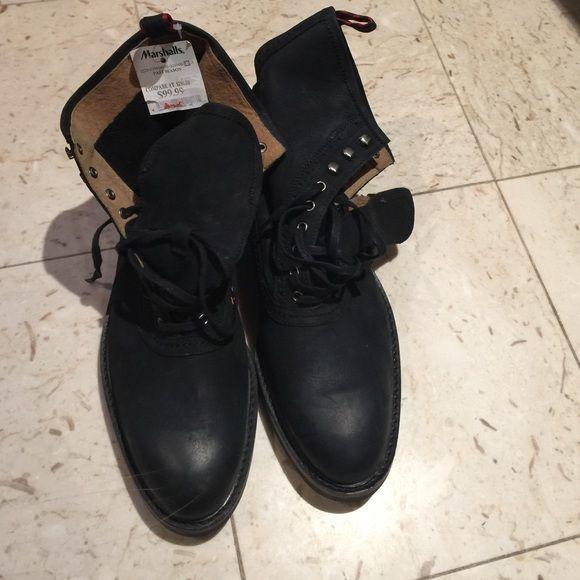 Ralph Lauren. High top boots. | Boots