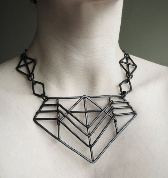 Jamie Spinello Crushes Bling and Industrial jewelry