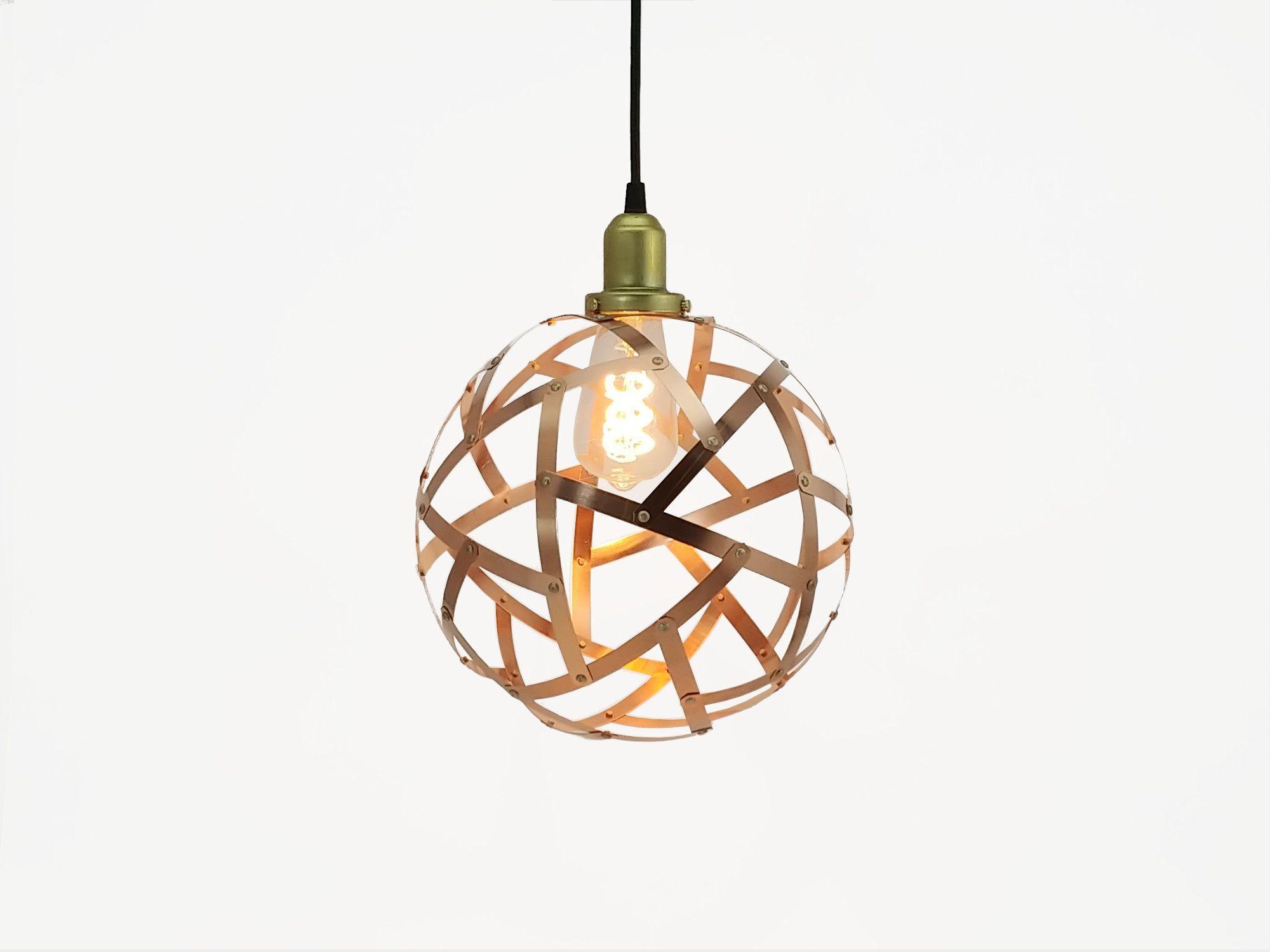 Copper Orb Light / Globe Pendant Light / Hanging Lamp / Copper Sphere / Dinning Table Lamp / Over Kitchen Island Light / UL listed#copper #dinning #globe #hanging #island #kitchen #lamp #light #listed #orb #pendant #sphere #table