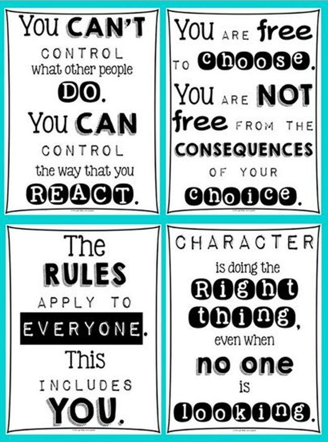 27 Classroom Poster Sets: Free and Fantastic | School, Bulletin ...