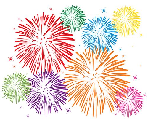 Fireworks Emoticon | Fireworks images, Fireworks, Vector free