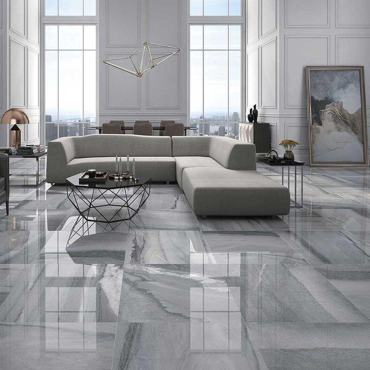 Latina Marble Porcelain Tiles Living Room Tiles Porcelain Tile Floor Living Room Marble Flooring Design