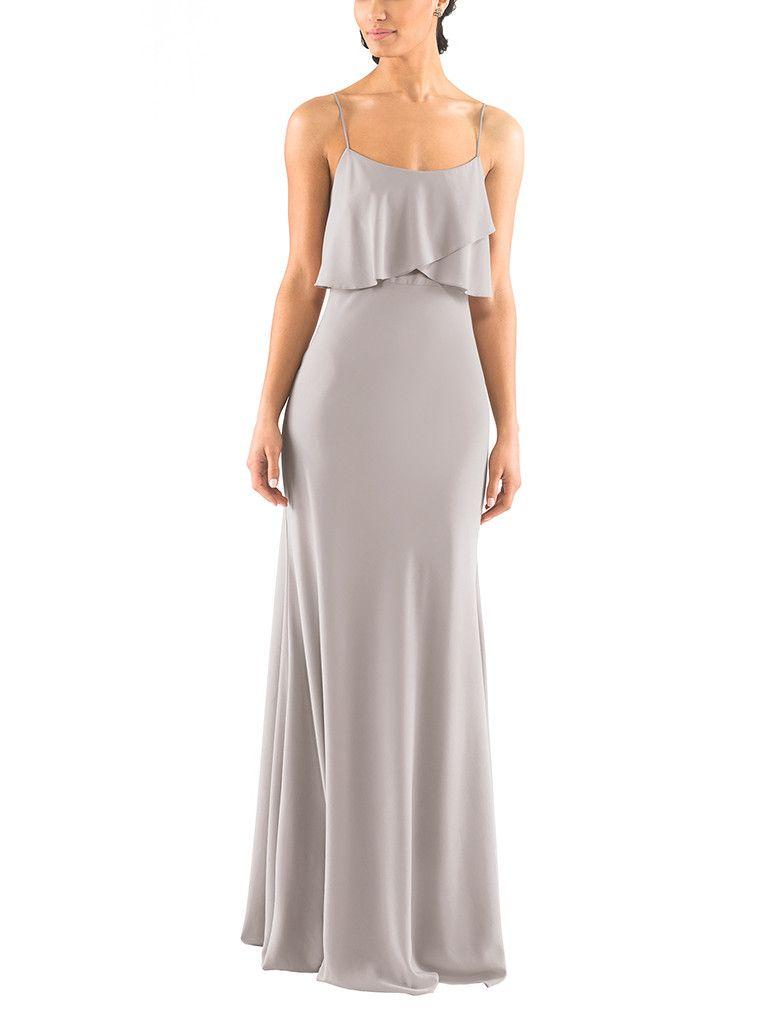 1c423cbf9bdf DescriptionJenny Yoo BlakeFull length bridesmaid dressCriss crossed…