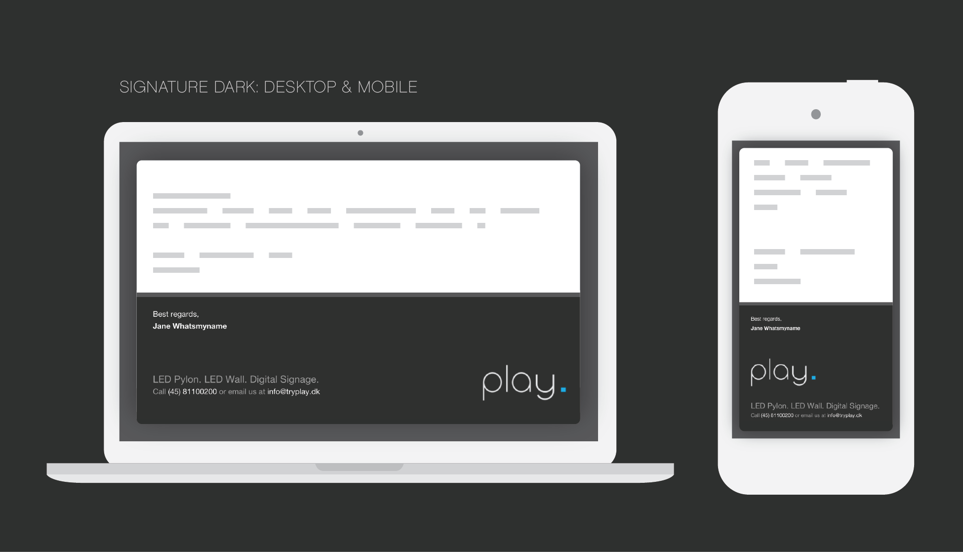 responsive emails-02 | Signature design | Pinterest | Responsive ...