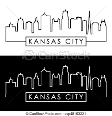Image Result For Kansas City Skyline Kansas City Skyline Stock Photograph Digital Illustration