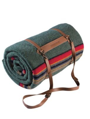 Pendleton Woolen Mills with classic carrier call Jane Leslie & Co. at 570-714-9955 for full selection of prints and options