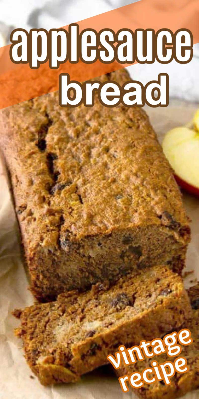 Easy Applesauce Bread In 2020 Interesting Food Recipes Best Bread Recipe Applesauce Bread