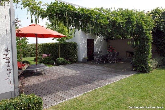 Sichtschutz Garten Ideen Modern Pergola \ Patio with Glyzinie by - sichtschutz garten modern