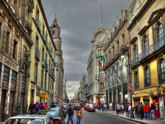 Downtown Architecture Mexico City,