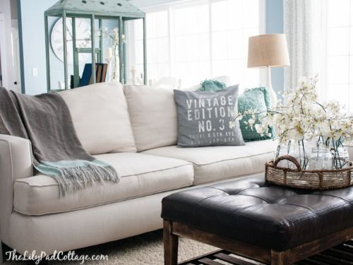 7 Ways To Make A White Sofa Look Fantastic With Images White