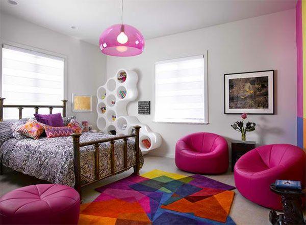 Kinderzimmer ideen für mädchen schräge  Jugendzimmer Mädchen - Einrichtungsideen für wachsende Mädels ...