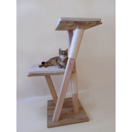 Arbre chat bois 39 edelweiss 39 arbre chat pinterest diy cat tree cat tree and cat - Arbre a chat bois naturel ...