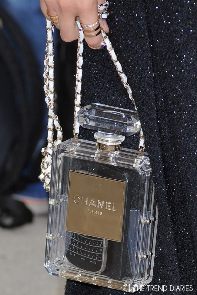 fbd7c821 CHANEL NO. 5 PERFUME BOTTLE BAG | ✿ Novelty Bags ~ so cute ✿ in ...