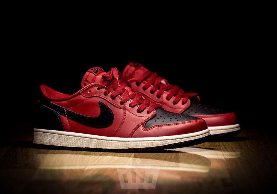 detailed look c1345 67c97 Air Jordan 1 Low OG Bred Color  Gym Red Black-Sail Style Code  705329-601  Price   130