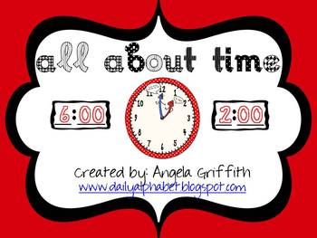 This is a great addition to any beginning lesson on time. This packet focuses on time to the hour and half-hour.This packet includes:A Match ...