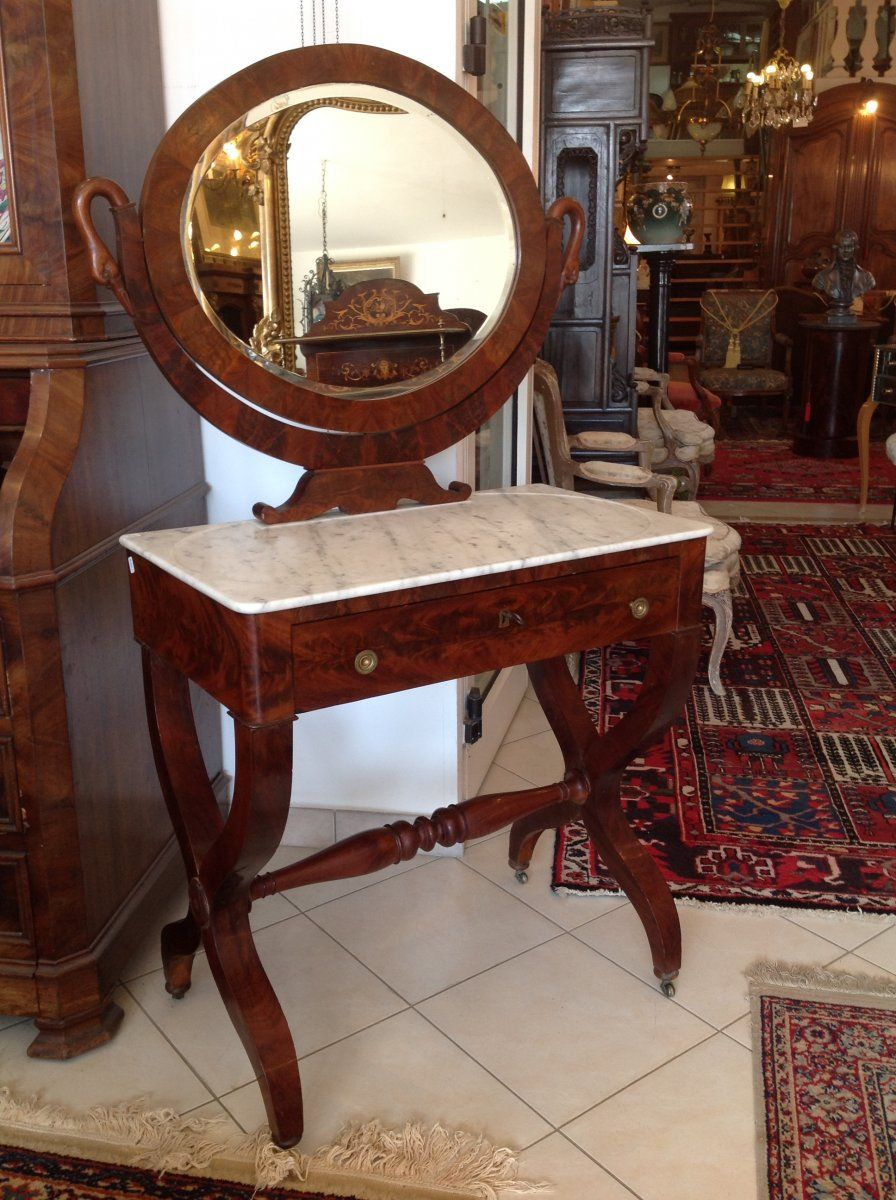Coiffeuse D Epoque Antiquites De Valrose Proantic Decor Furniture Home Decor
